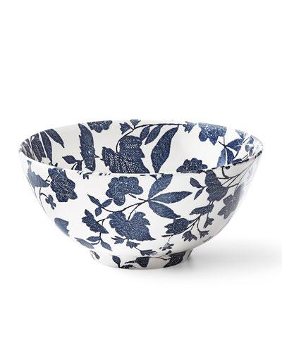Garden Vine Large Footed Bowl