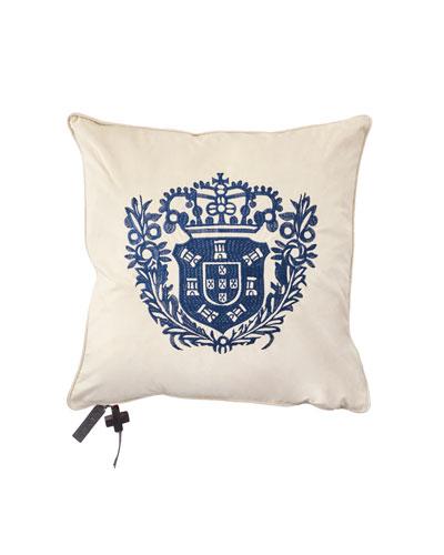 Jan Barboglio El Escudo Pillow