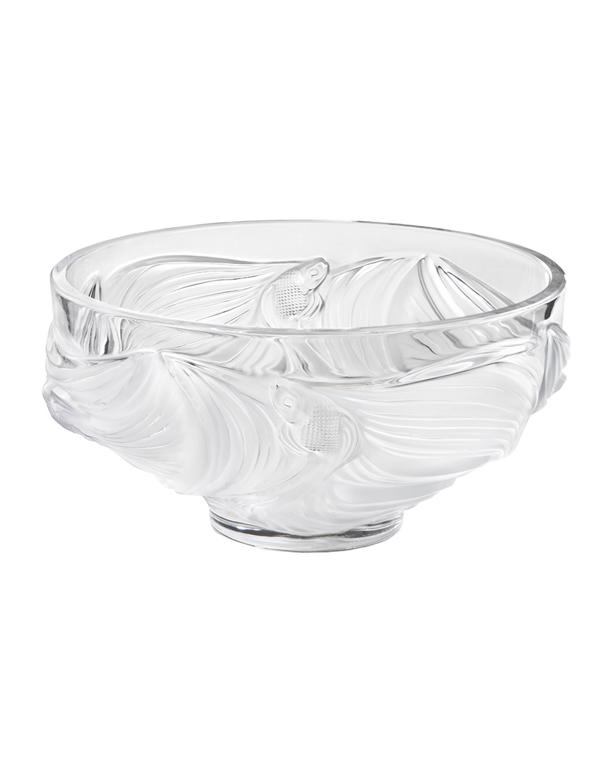 Lalique Dinnerwares POISSONS BOWL, CLEAR