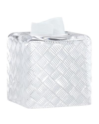 Basket Weave Tissue Box Cover