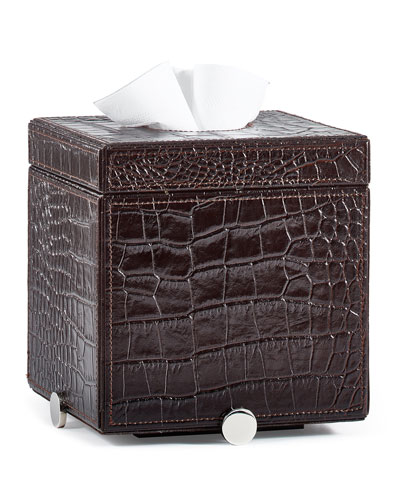 Discus Brown Tissue Box Cover
