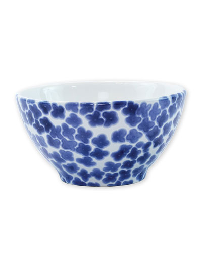 Santorini Flower Cereal Bowl