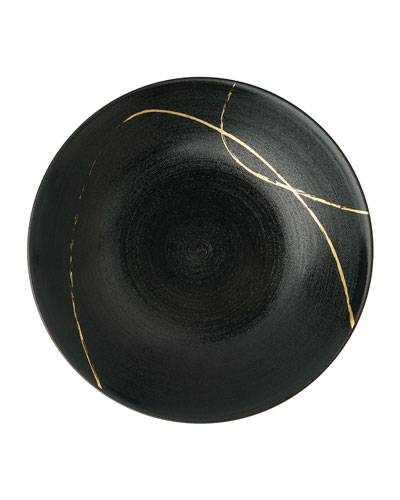 Art Glaze Round Serving Bowl
