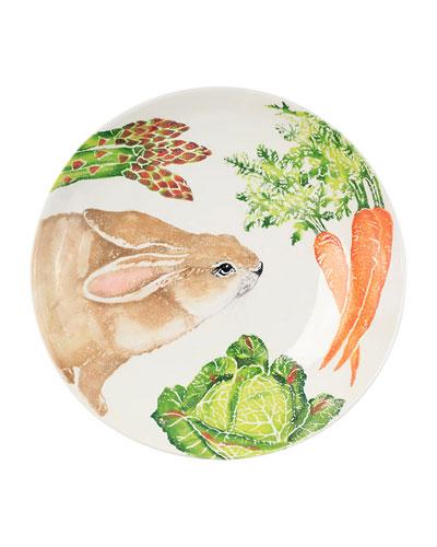 Spring Vegetables Large Serving Bowl