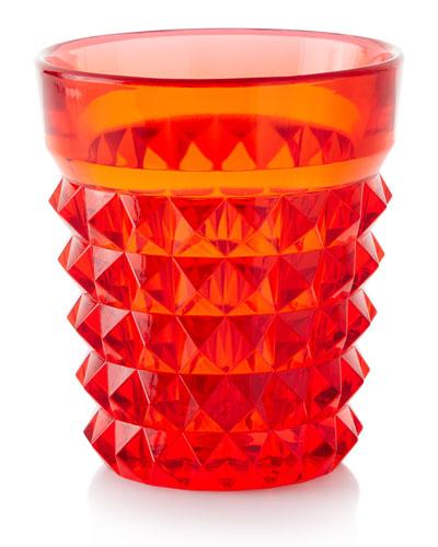 Palazzo Acrylic Tumbler, Red
