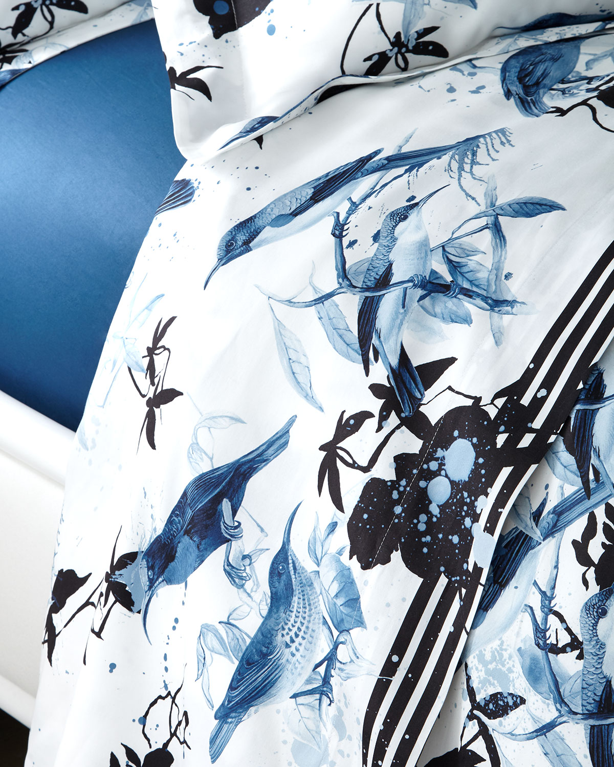 Roberto Cavalli BIRDS RAMAGE QUEEN FLAT SHEET