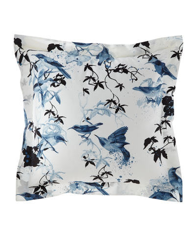 Birds Ramage European Shams, Set of 2