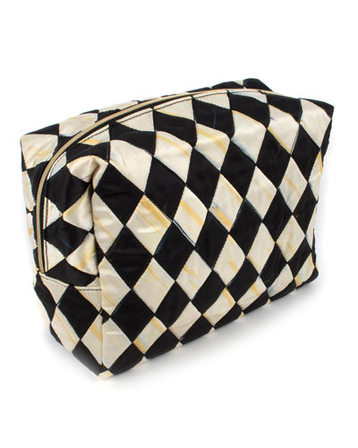 Harlequin Large Cosmetic Bag