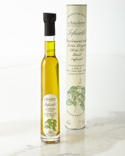 Basil Infused Extra Virgin Olive Oil, 200 mL