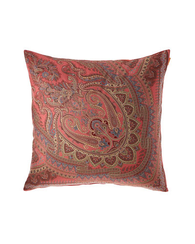 Paisley Knife Edge European Sham