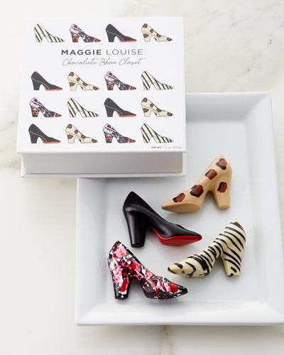 Chocolate Shoe Closet Gift Box