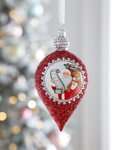 Gouttelette Santa Ornament