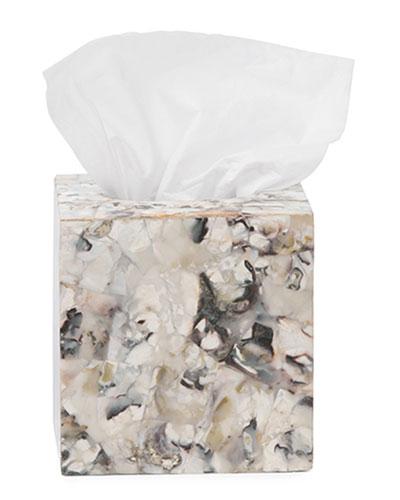 Tramore Natural Laminated Tissue Box Cover