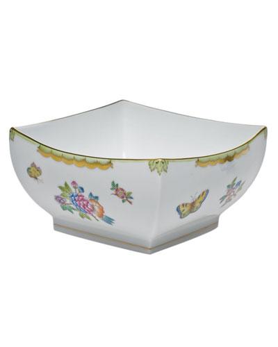 Queen Victoria Large Square Bowl