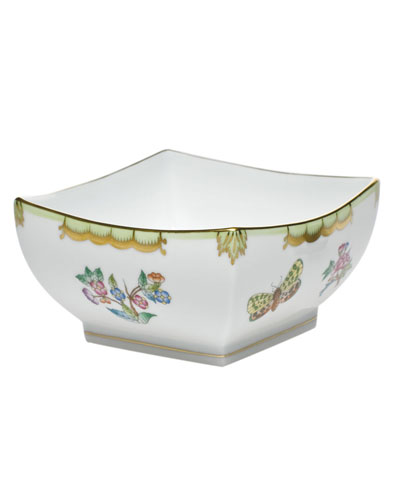 Queen Victoria Small Square Bowl