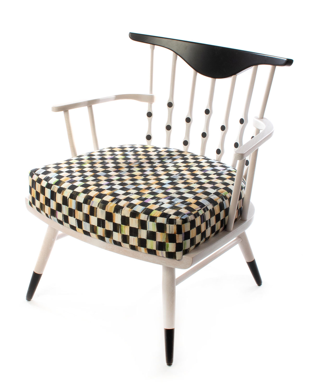 Mackenzie-Childs Furnitures MUSICAL CHAIRS ACCENT CHAIR