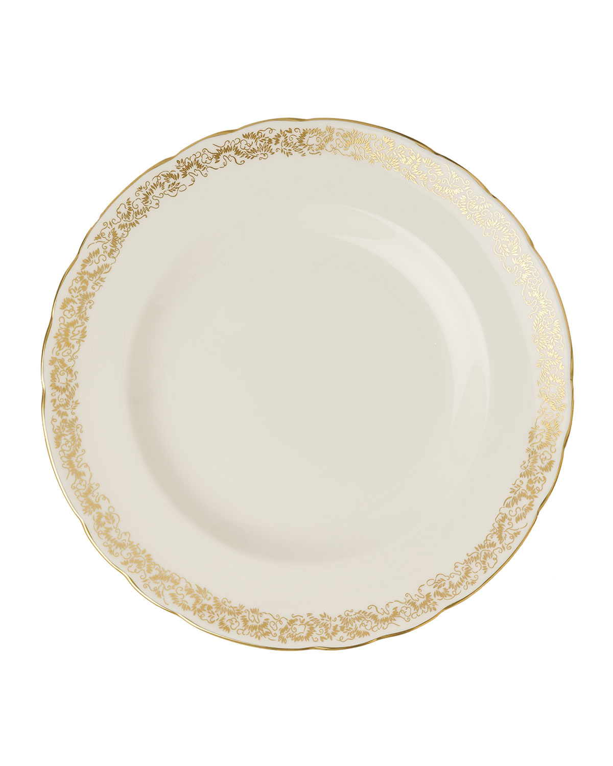 "Royal Crown Derby AVES GOLD NARROW 8.6"" PLATE"