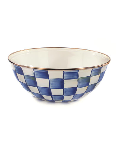 Royal Check Everyday Large Bowl
