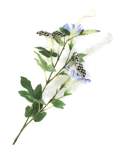 Courtly Check Morning Glory Spray