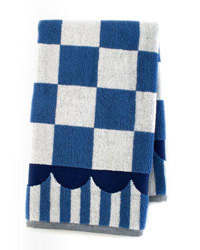 Royal Check Hand Towel