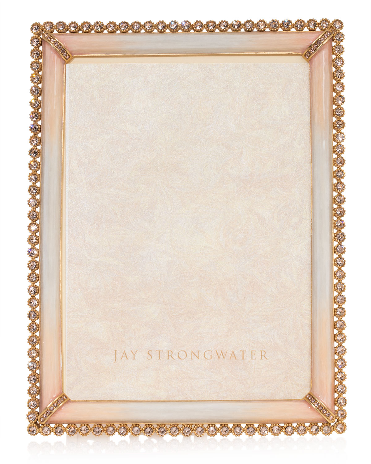 """Jay Strongwater STONE EDGE PICTURE FRAME, 5"""" X 7"""""""