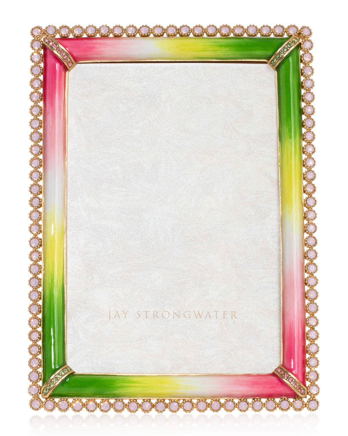 """Jay Strongwater STONE EDGE PICTURE FRAME, 4"""" X 6"""""""