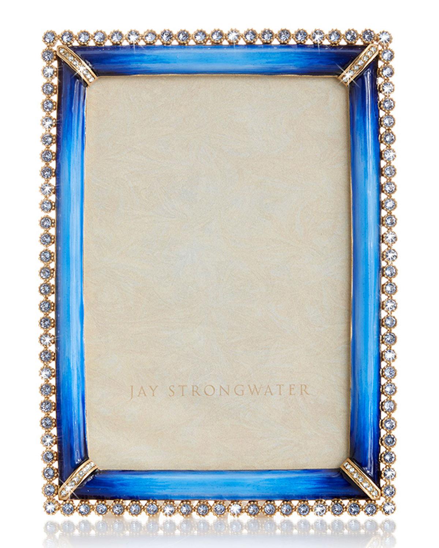 "Jay Strongwater STONE EDGE FRAME, 4"" X 6"""