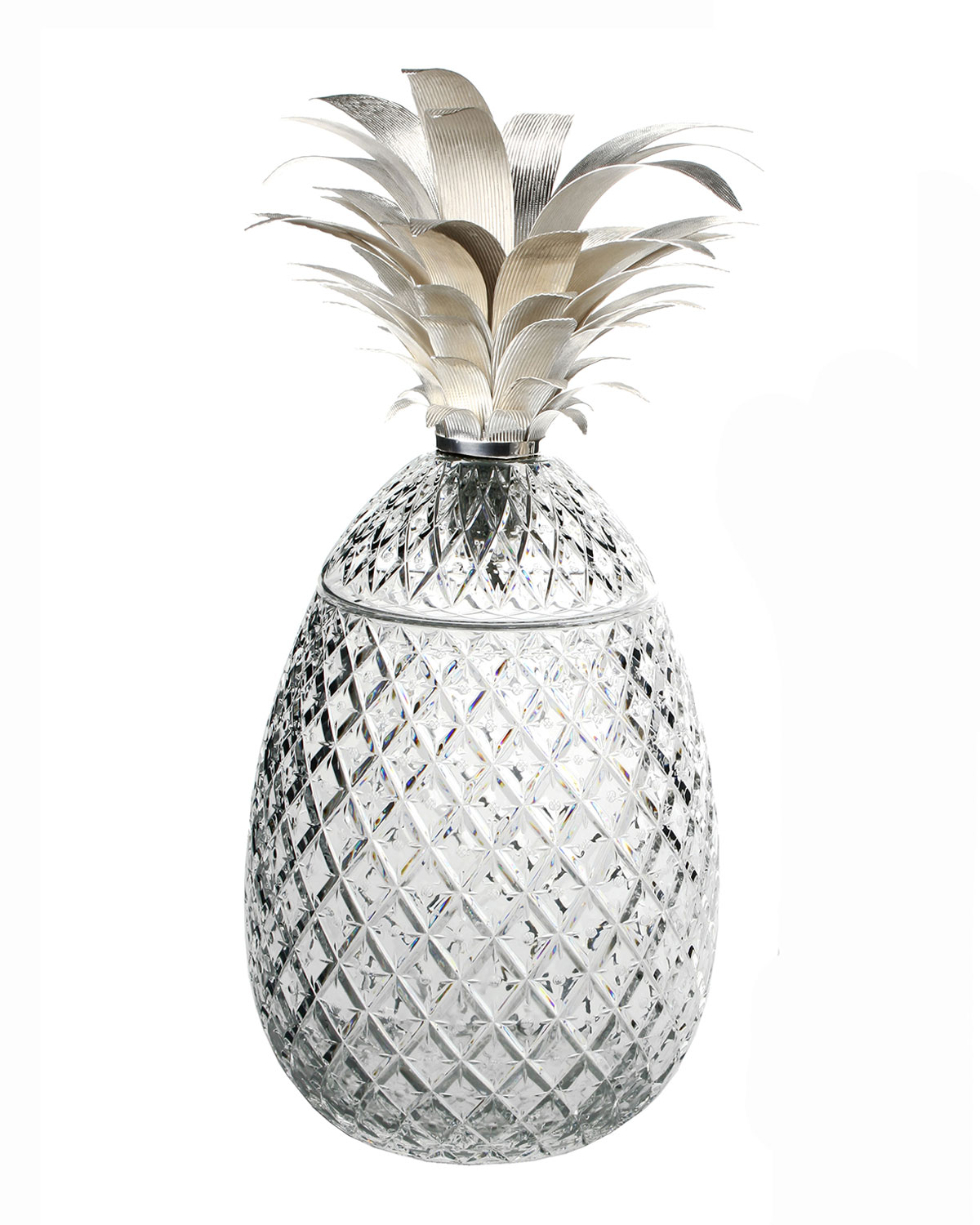 "William Yeoward ISADORA 26"" SILVER PINEAPPLE CENTERPIECE"