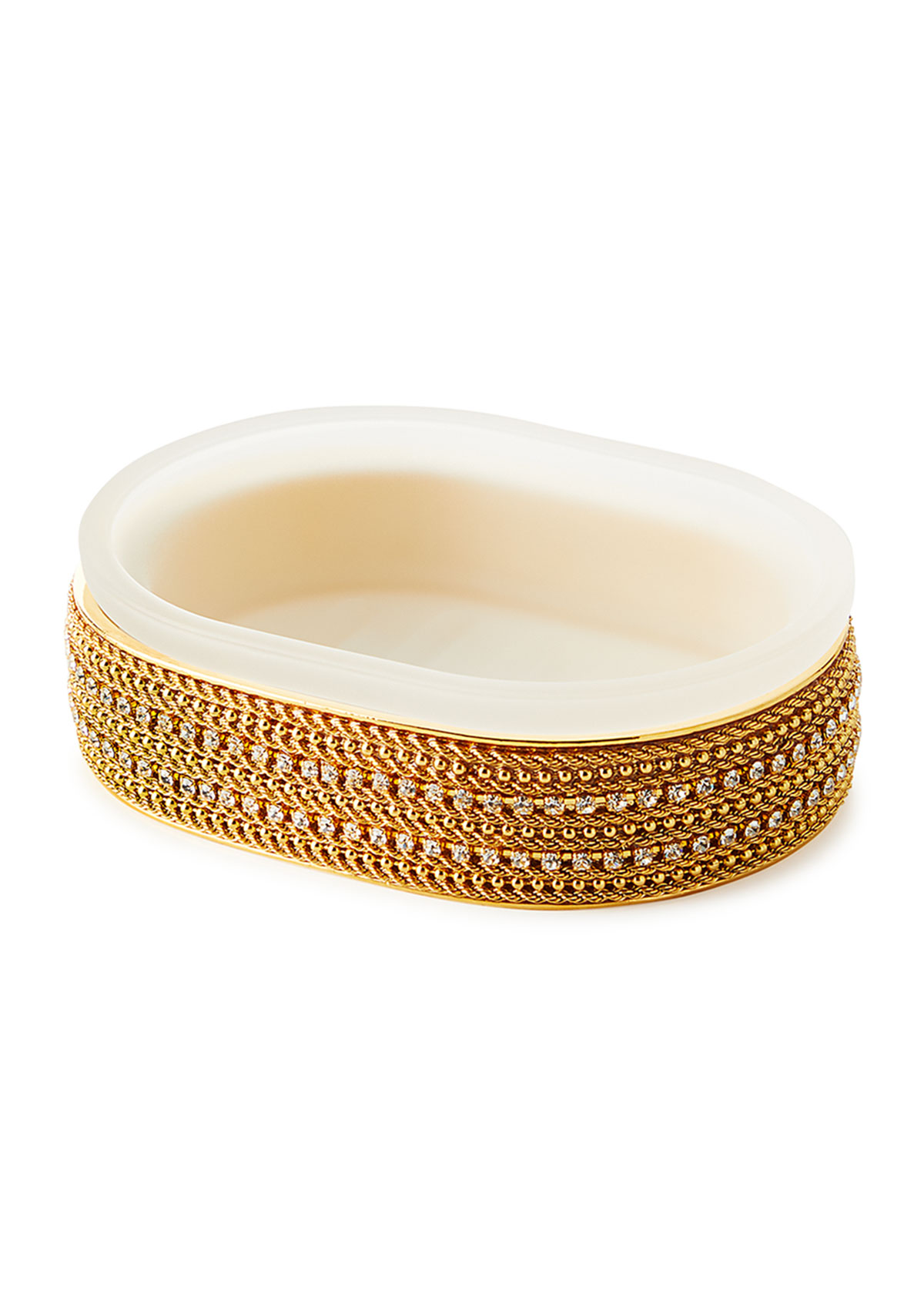 Mike & Ally ARCHIE SOLID CHAIN OVAL SOAP DISH