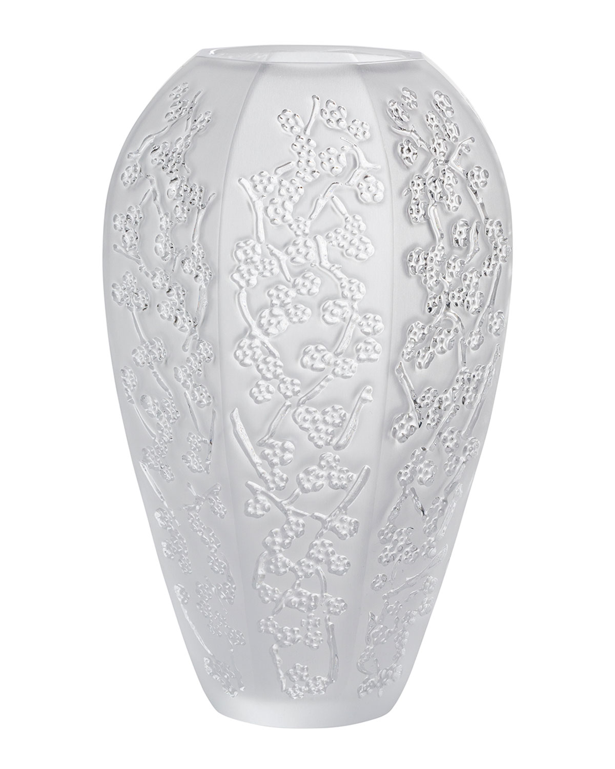 Lalique LARGE SAKURA VASE