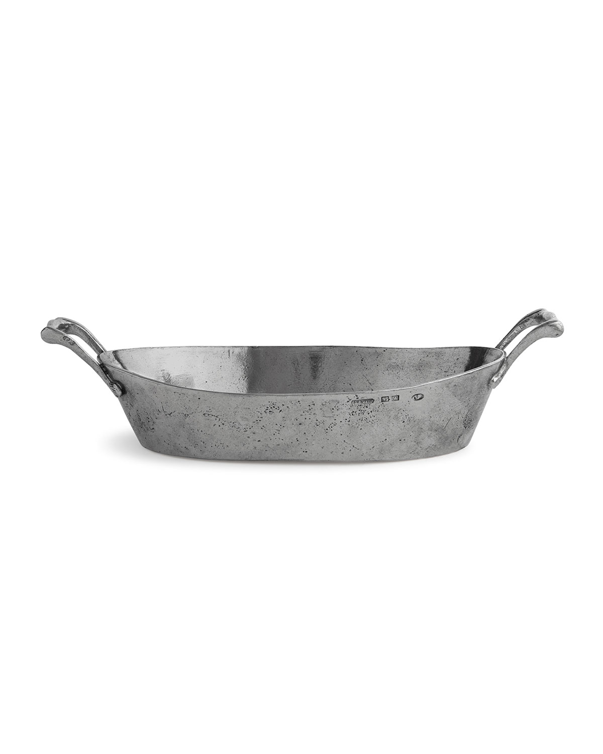 Arte Italica VINTAGE OVAL BOWL WITH HANDLES