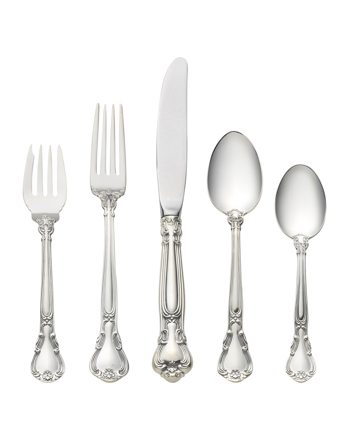 Gorham CHANTILLY 5-PIECE FLATWARE SETTING WITH PLACE SPOON