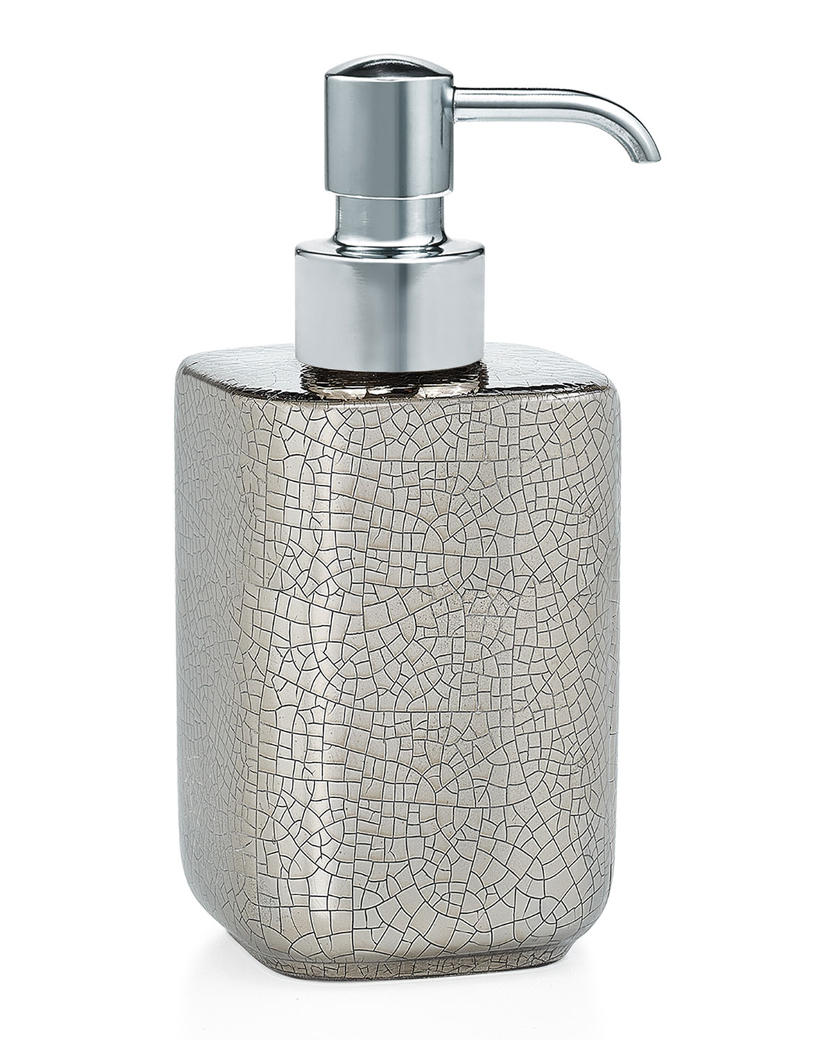 Labrazel PIA SILVER PUMP DISPENSER - WITH POLISHED CHROME PUMP