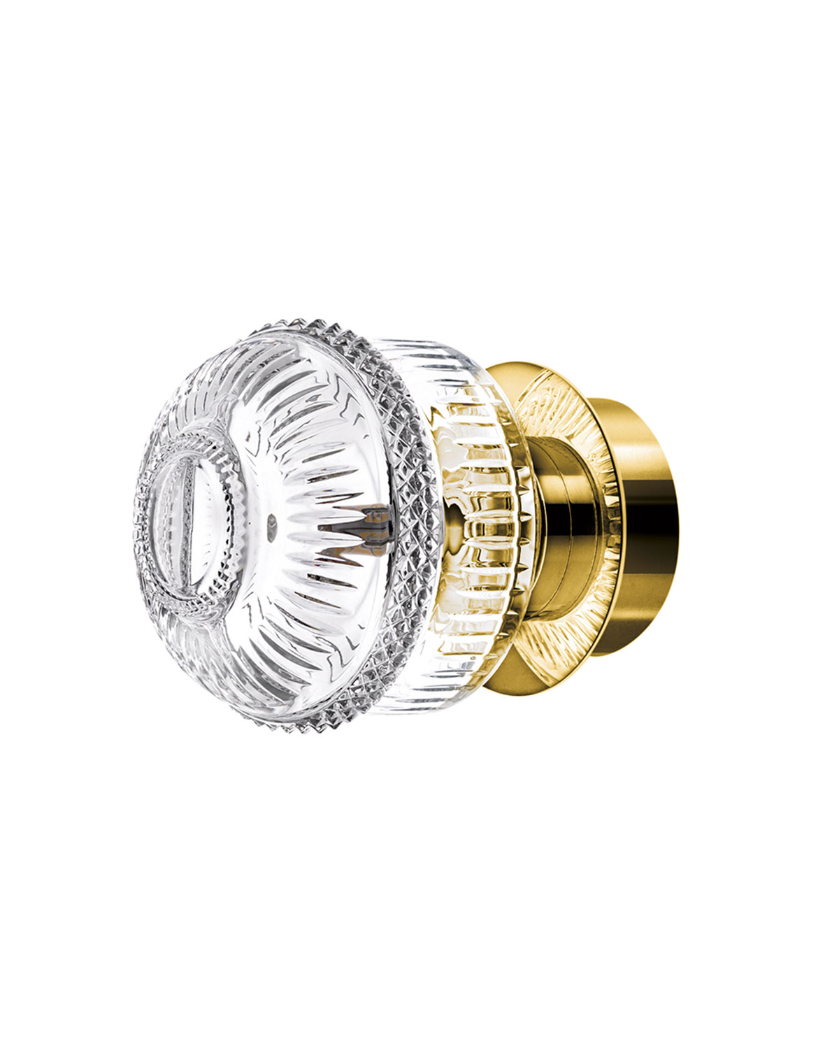 Saint Louis Crystal MATRICE SMALL SCONCE, GOLD