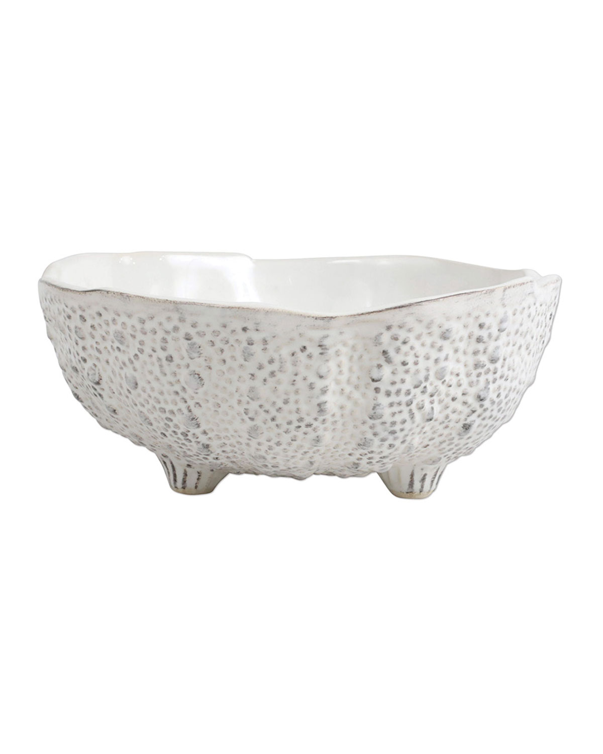 Vietri ACQUATICO WHITE SEA URCHIN SMALL BOWL