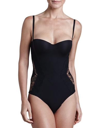 Allure Convertible Bodysuit, Black