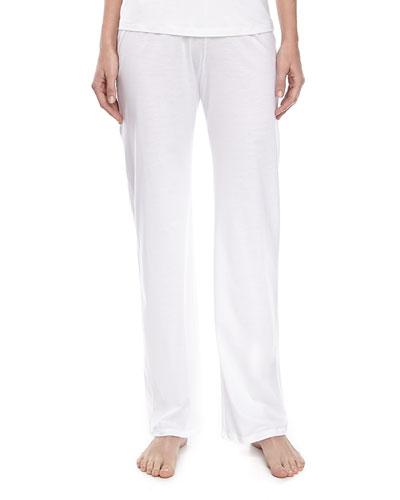 Pima Cotton Drawstring Pants