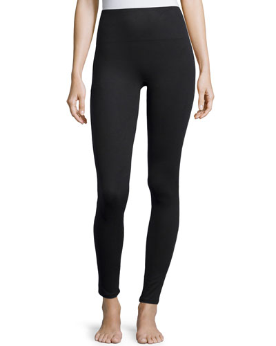 Essential Stretch Leggings, Very Black