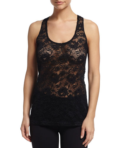 Never Say Never Lace Racerback Camisole