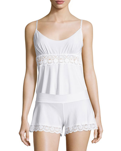 Butter Lace-Panel Camisole