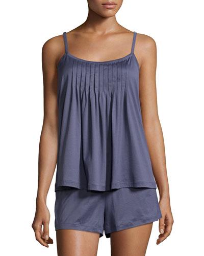Juliet Short Pajama Set, Cosy Blue
