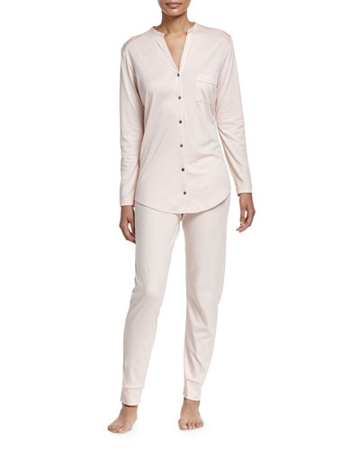 Pure Essence Two-Piece Pajama Set, Roseo