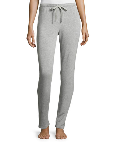 Tapered Lounge Pant, Light Heather Gray