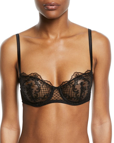 Accord Prive Underwire Half-Cup Bra