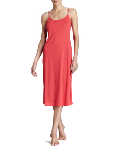 Shangri-La Jersey Gown, Passion Pink