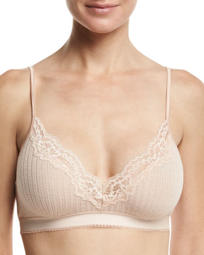 Lily Blushing Soft-Cup Bra, Pink