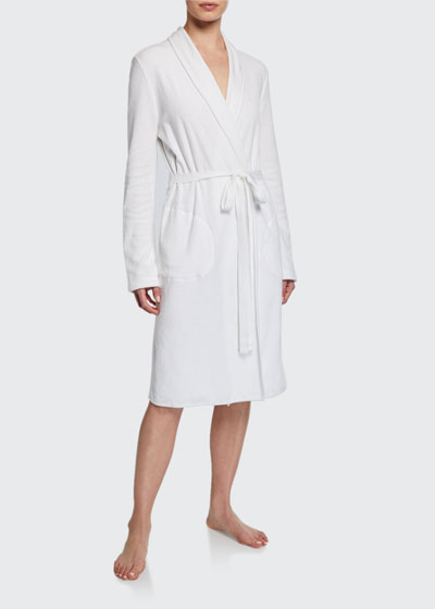 French Terry Wrap Robe