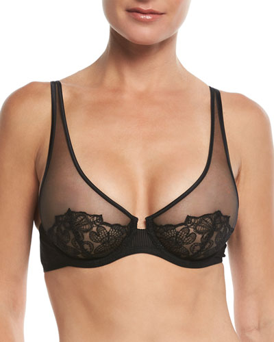 English Rose Plunge Underwire Bra