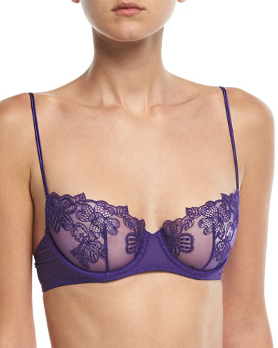 English Rose Lace Demi Bra