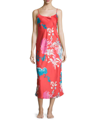 Chianti Floral Gown
